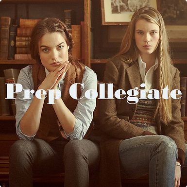 Prep Collegiate A/W 2021-22 womenswear trend direction