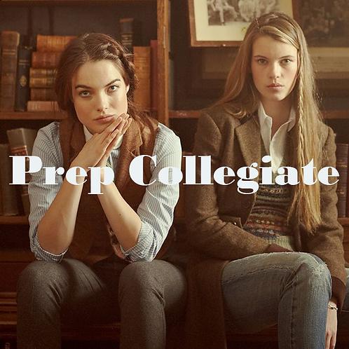 Prep Collegiate A/W 2021-22 womenswear trend direction
