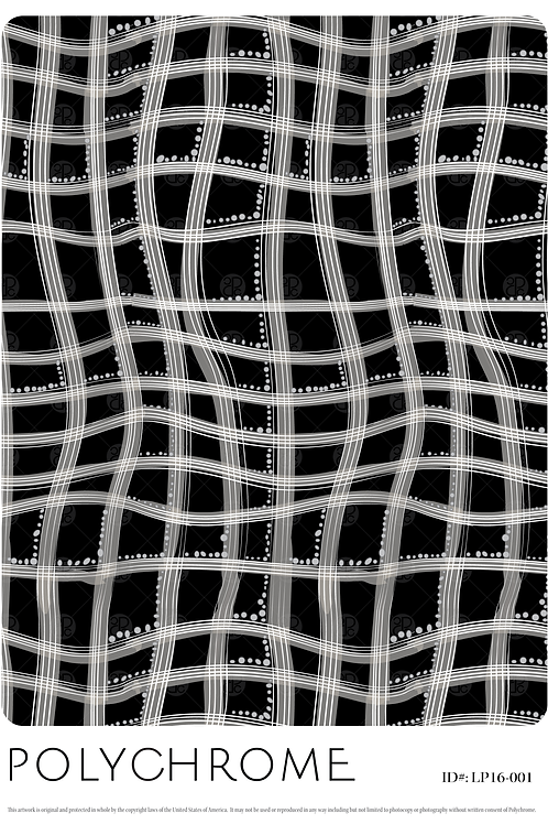 LP16-001 original print pattern