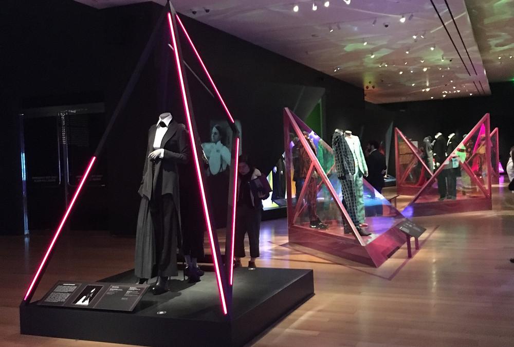 the Gender Bending Fashion exhibit at Boston's MFA 2019