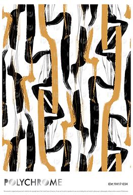 YH17-034 original print pattern