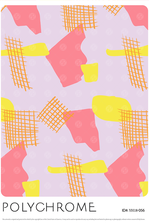 YH18-056 original print pattern