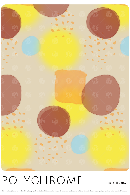 YH18-047 original print pattern
