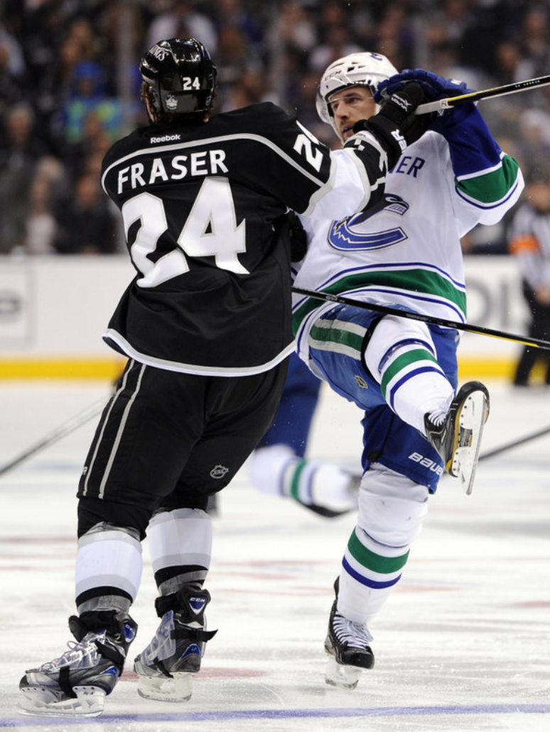 LA Kings hockey team sport dominating black uniforms