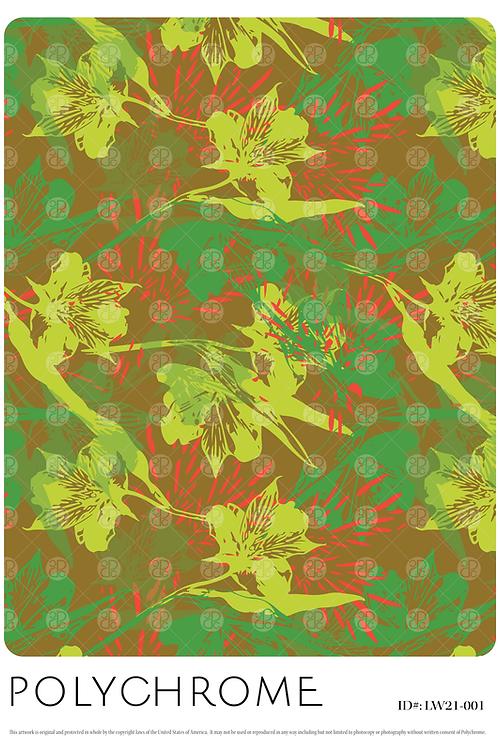 LW21-001 original print pattern