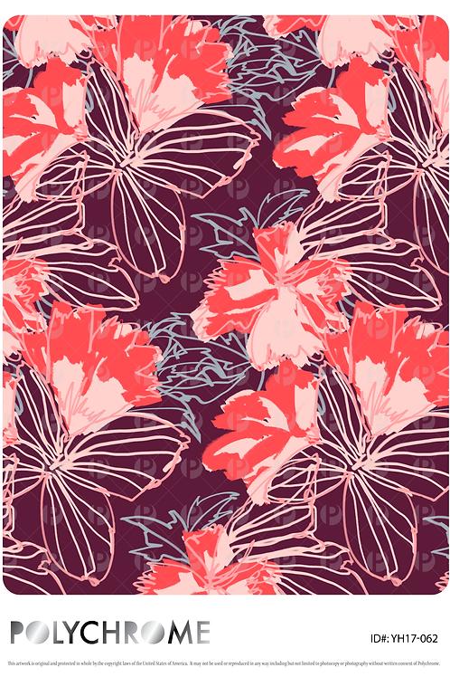 YH17-062 original print pattern