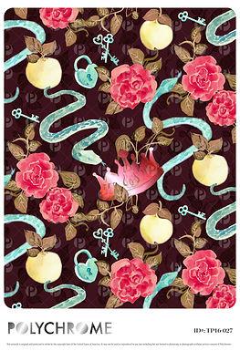 TP16-027 original print pattern