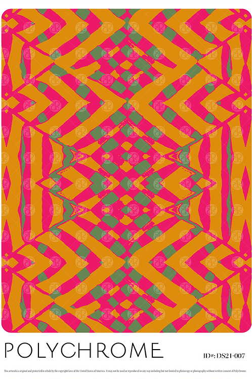 DS21-007 original print pattern