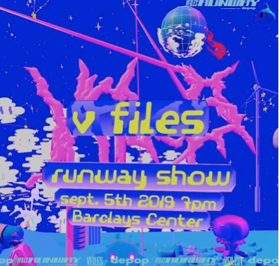 NYFW 2019 at the V-Files runway show!