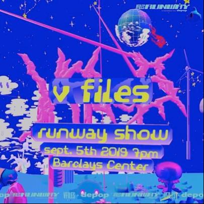 V-files Fall runway show New York Fashion Week 2019