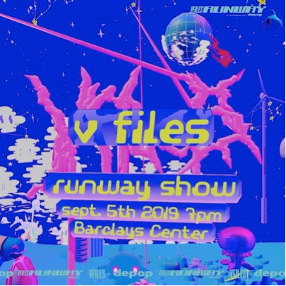 NYFW 2019 at the V-Files runway show!