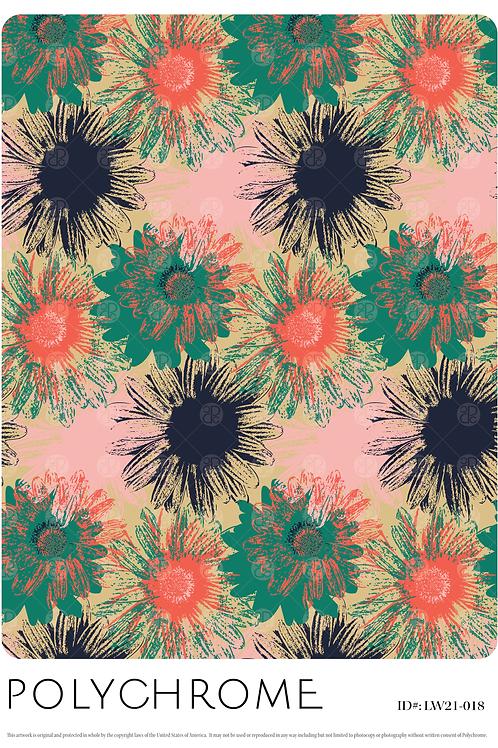 LW21-018 original print pattern