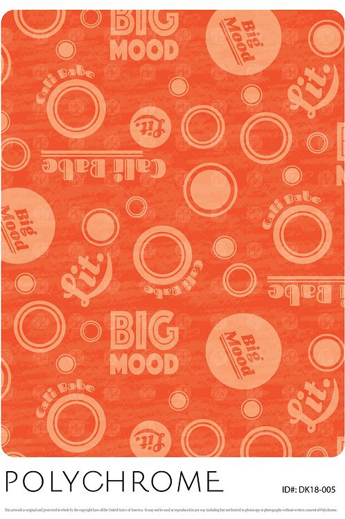 DK18-005 original print pattern