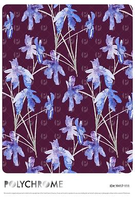 YH17-111 original print pattern