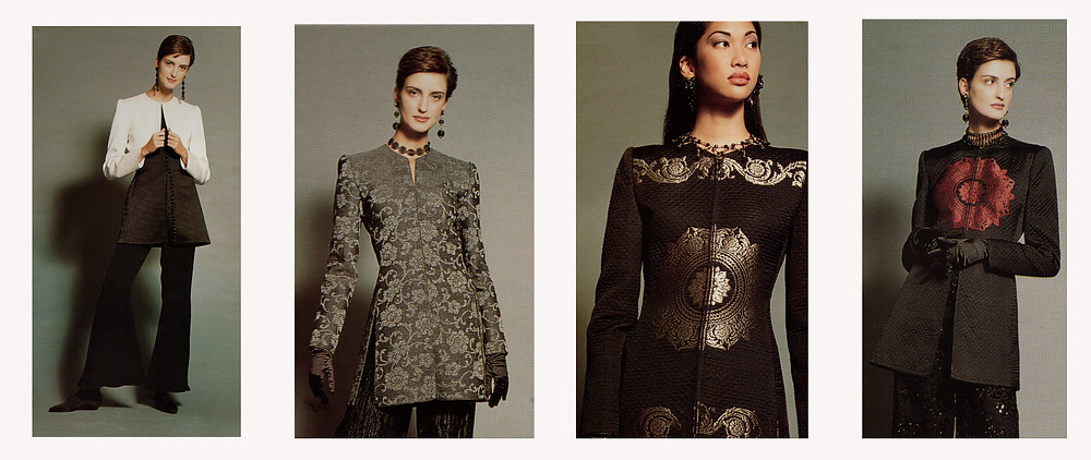 Mary McFadden luxury apparel 1993