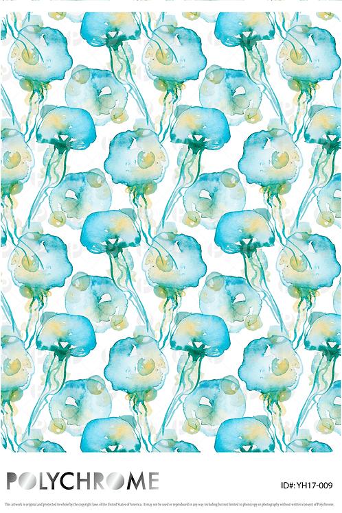 YH17-009 original print pattern