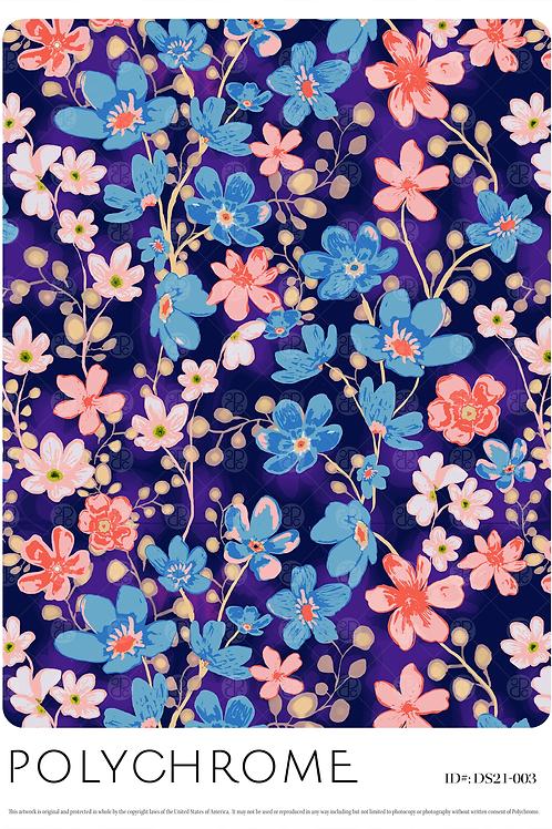 DS21-003 original print pattern