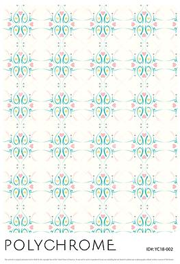 YC18-002 original print pattern
