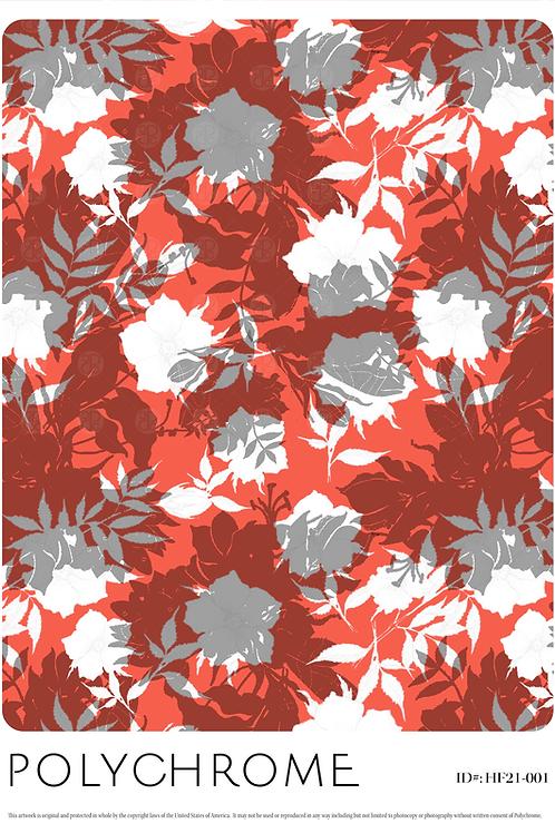 HF21-001 original print pattern