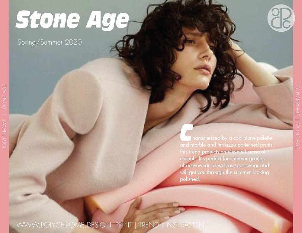 Stone Age Spring/Summer 2020 fashion trend forecast