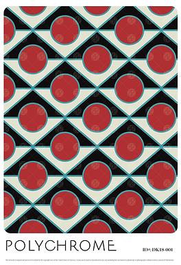 DK18-001 original print pattern