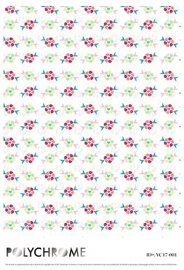 YC17-001 original print pattern