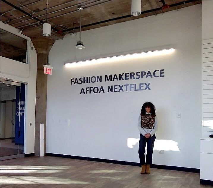 the New Vestures makerspace is in collaboration with AFFOA