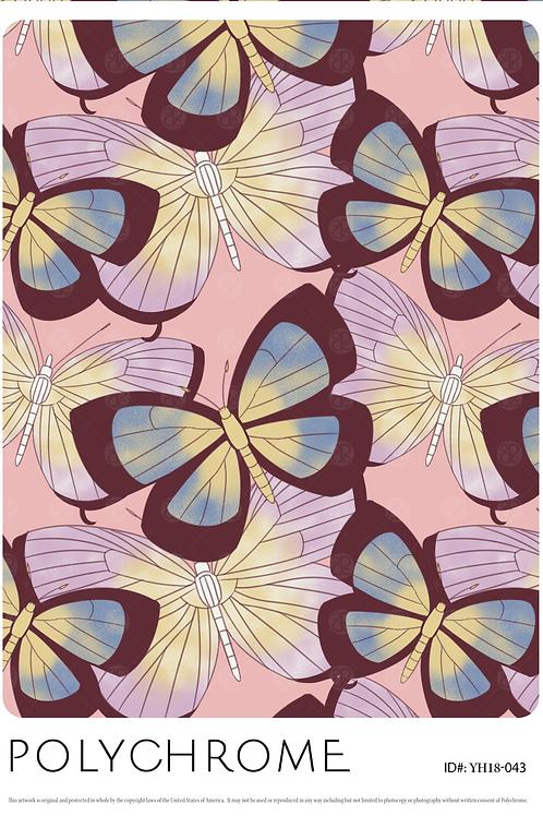 YH18-043 original print pattern
