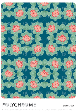YH17-004 original print pattern