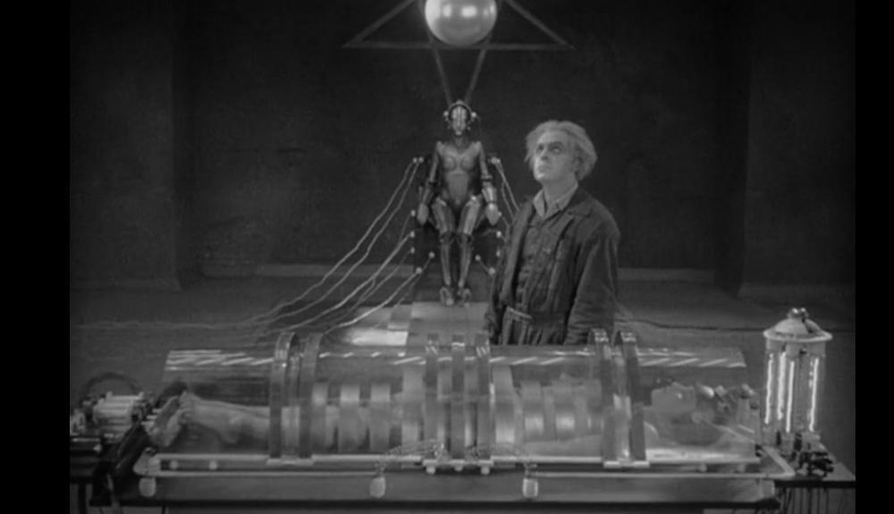Brigitte Helm as Maria in Fritz Lang's Metropolis
