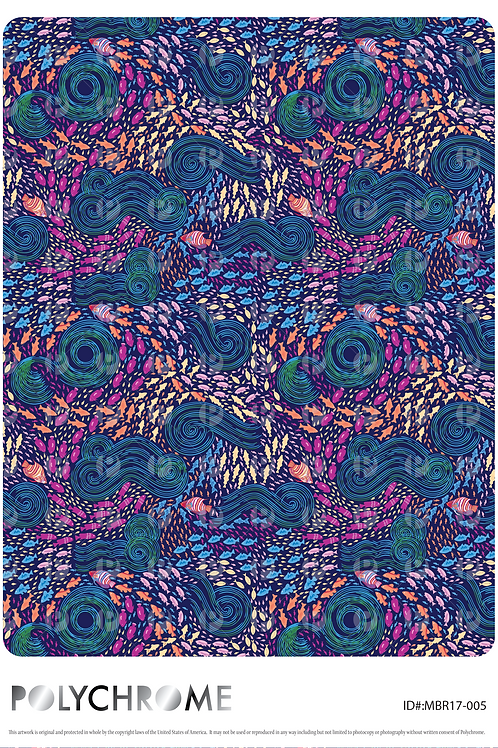 MB17-005 original print pattern