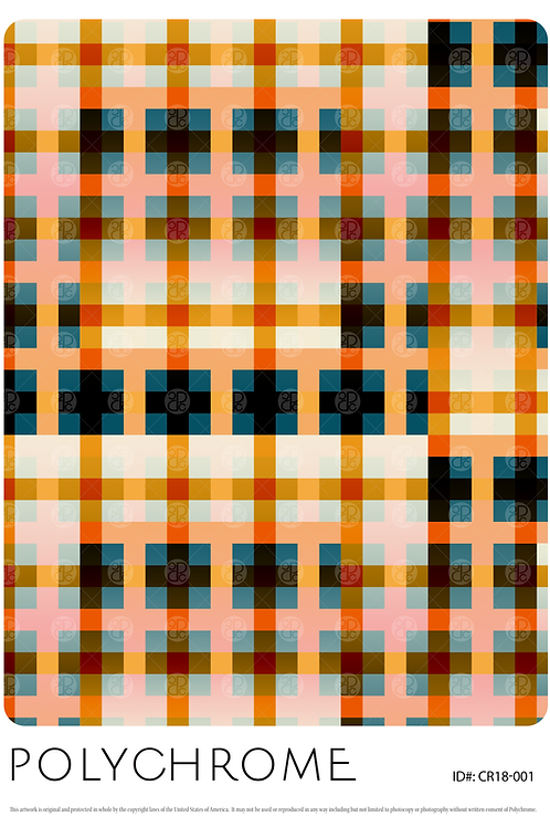 CR18-001 original print pattern