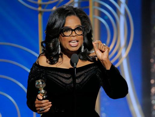 inspiring us: Oprah