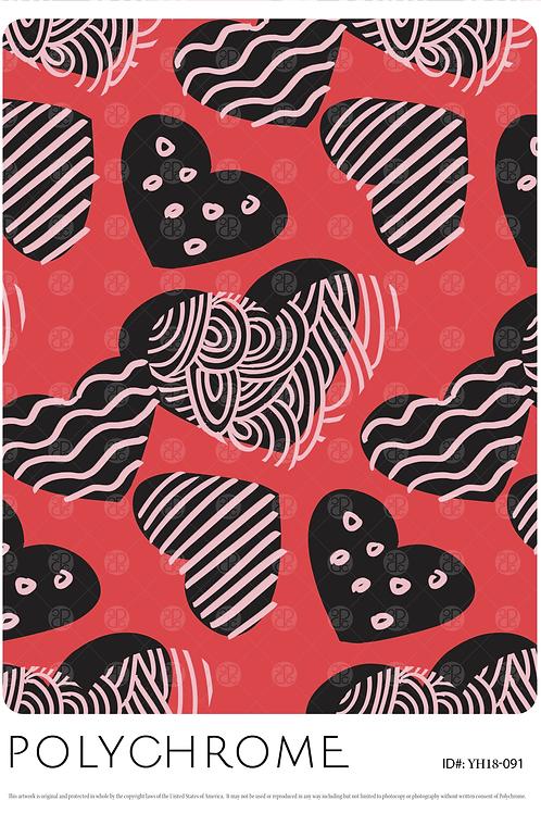 YH18-091 original print pattern