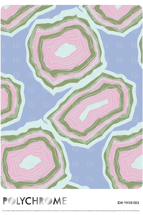YH18-003 original print pattern