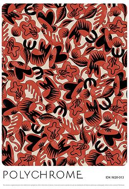 NI20-013 original print pattern