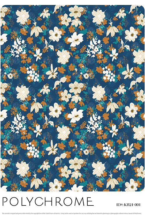 KB21-001 original print pattern