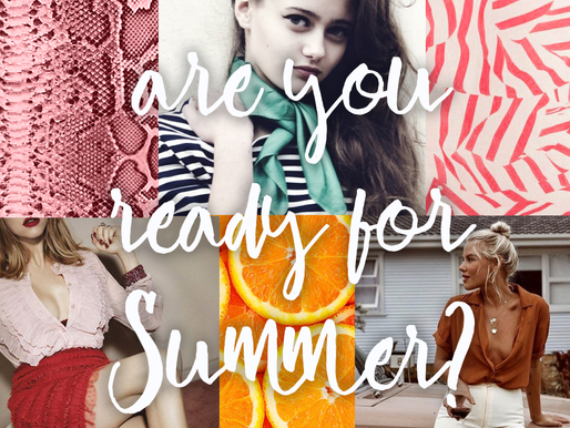 Summer 2019 TREND preview!