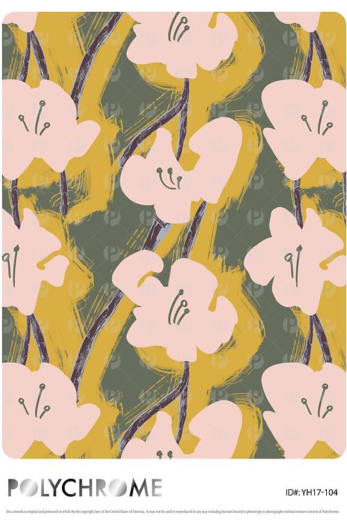 YH17-104 original print pattern