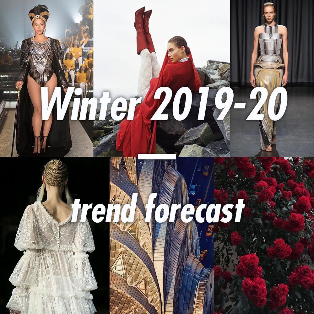 Winter A/W 2019 - 20 fashion trend forecast