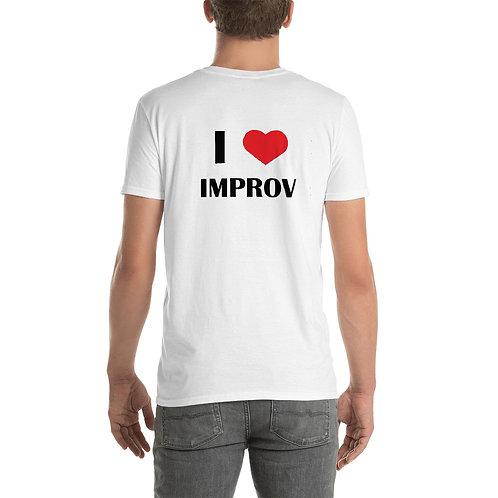 I Heart Improv - White