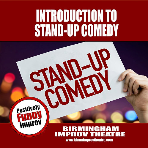 Introduction to Stand-Up Comedy