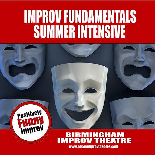 Improv Fundamentals Summer Intensive