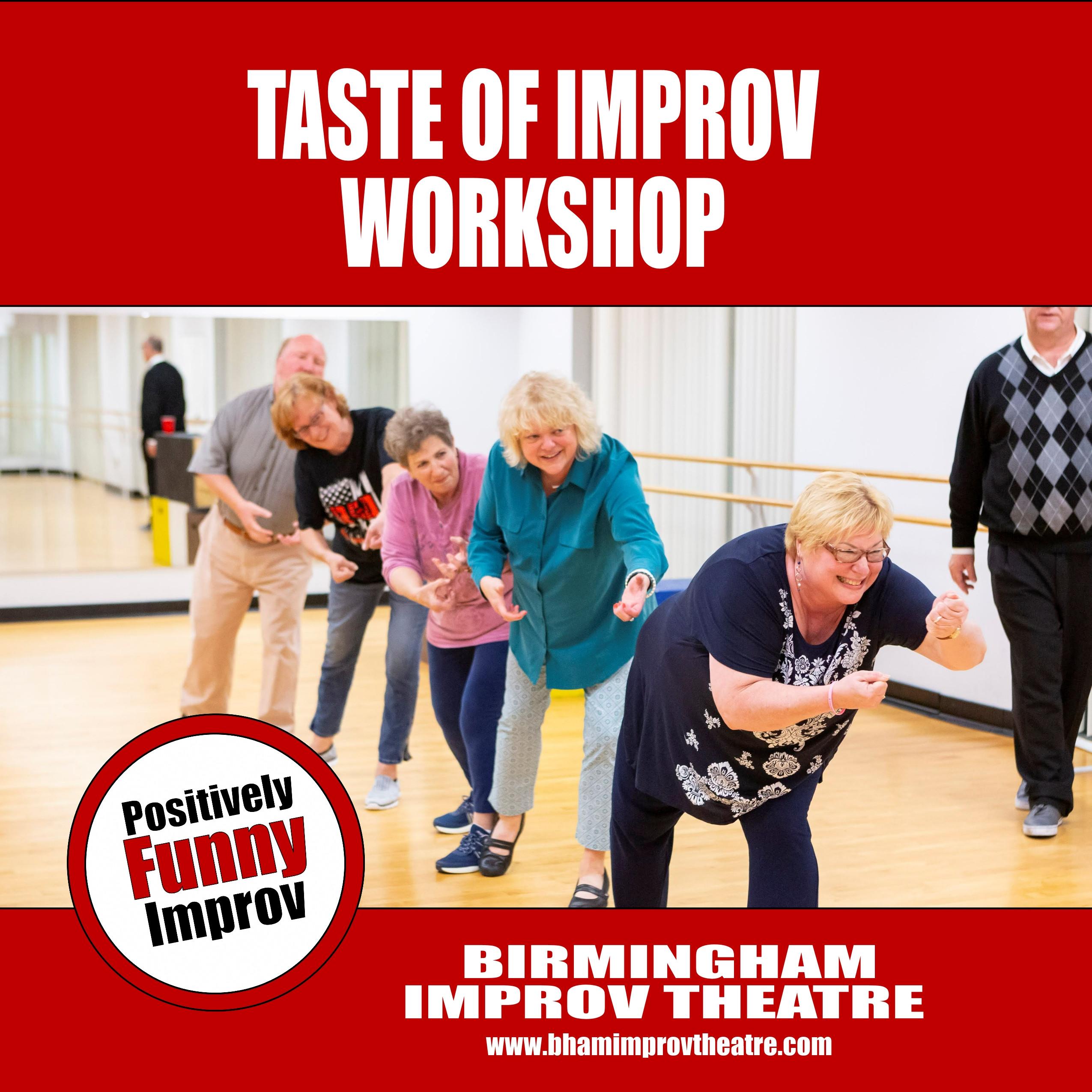 Taste of Improv Workshop