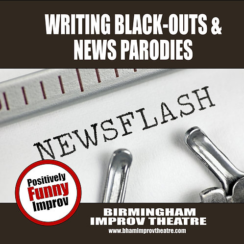 Writing Black-Outs & News Parodies