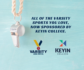 School Sports Newfoundland and Labrador is proud to officially announce its new partnership with Keyin College! Keyin College is joining the SSNL Varsity Program as a Gold Medal Sponsor and will be contributing $100,000 to the program over the next 4 years.   Specifically, Keyin College will be involved with a number of Varsity initiatives including our MVP & Sportsmanship award program, Sports Star program and Scholar Athlete program.  We are thrilled with the prospects and opportunities that exist within this new partnership. Keyin's commitment and support is a huge boost to our Varsity program and we are excited to welcome them to our team.