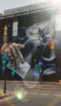 Nomad Clan, london street art, street art, mural, shoreditch street art