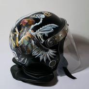'Divine Authority' Riot helmet