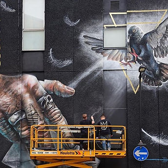 Nomad Clan, street art, london street art, shoreditch street art, global street art, graffiti, giant mural