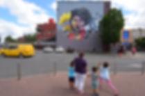 The simpsons, nomad clan,  upfest, lisa simpson graffiti, #bemorelisa, lisa simpson, street art, the simpsons graffiti, street art bristol, upfest simpsons,